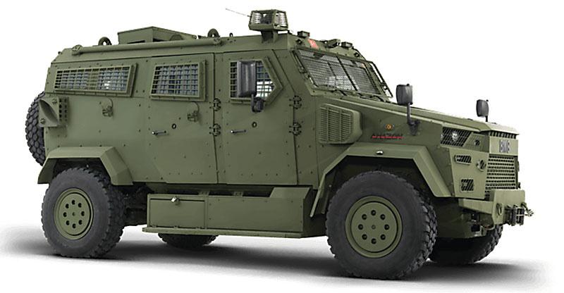 В 2018 году турецкая компания BMC поставила пограничной службе Туркменистана боевые бронированные машины «Амазон» и «Вуран».