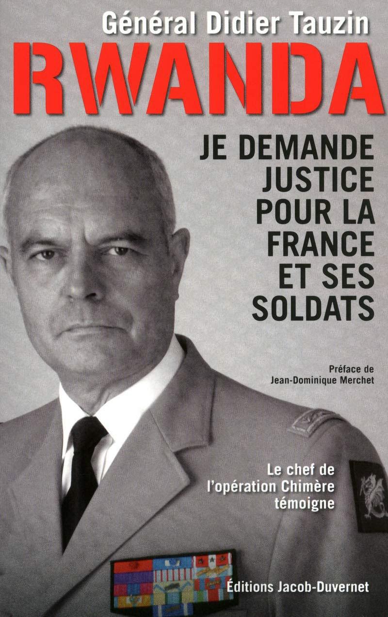 Обложка книги Дидье Тозена «Требую справедливости для Франции и её солдат».