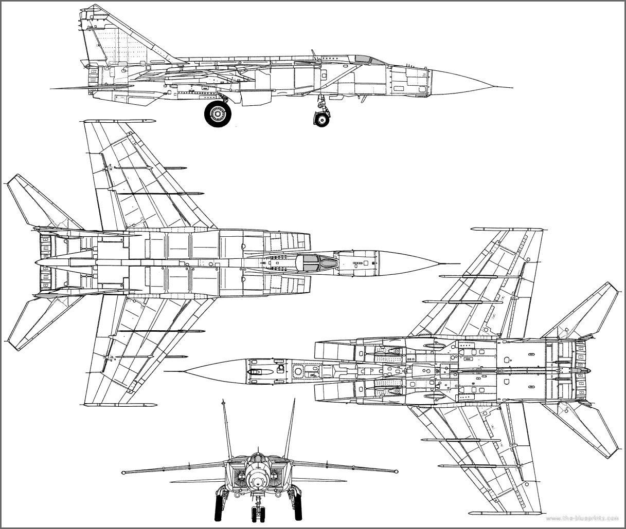 Миг-25 был разработан в ОКБ Артёма Микояна.