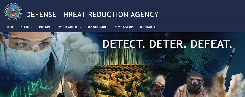 Министерством обороны США 1 октября 1998 года было создано Агентство по предотвращению военной угрозы (Defense Threat Reduction Agency, DTRA).