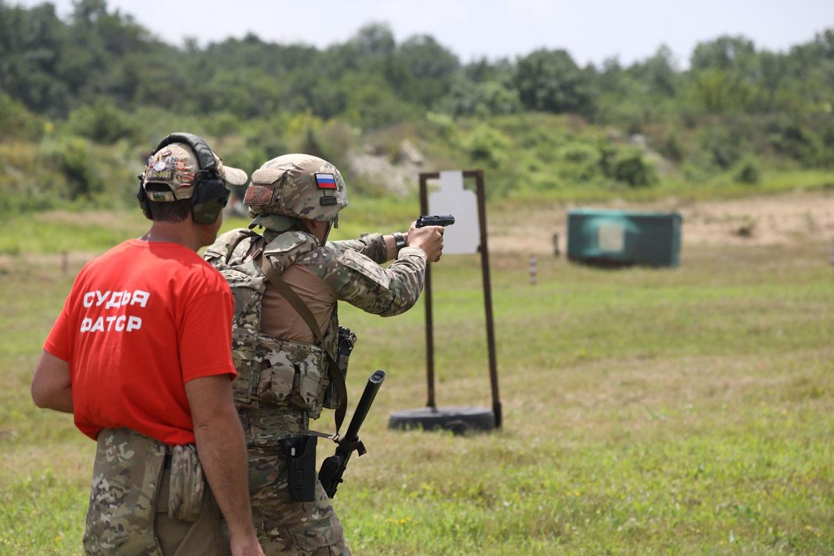 Всеармейский этап соревнований «Тактический стрелок» завершился 3 июля на полигоне Раевский.