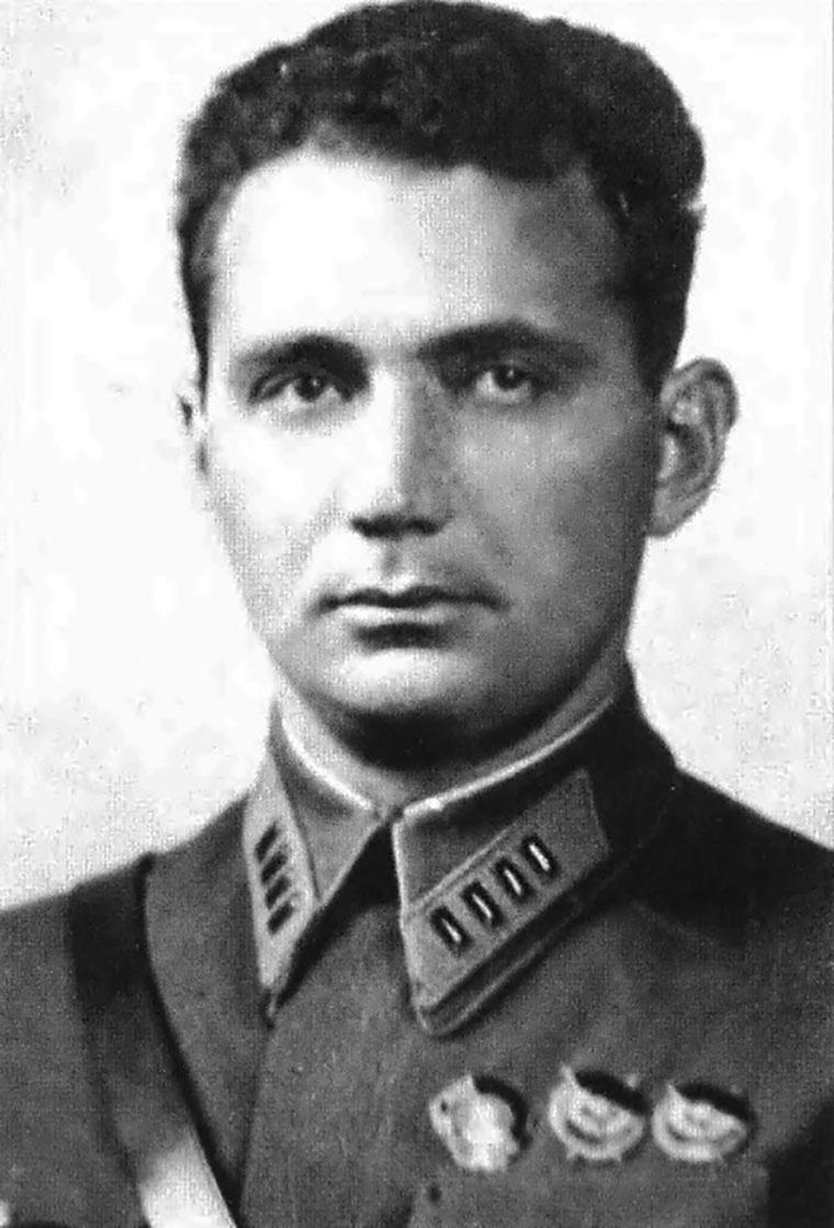 Полковник Хаджи-Умар Мамсуров.