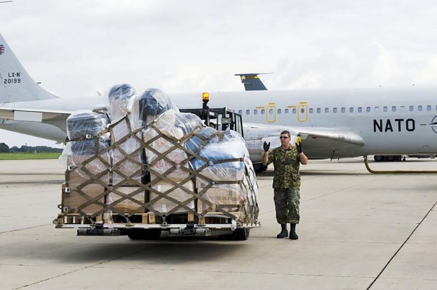 В Ульяновске был создан перевалочный пункт для авиации США и НАТО.