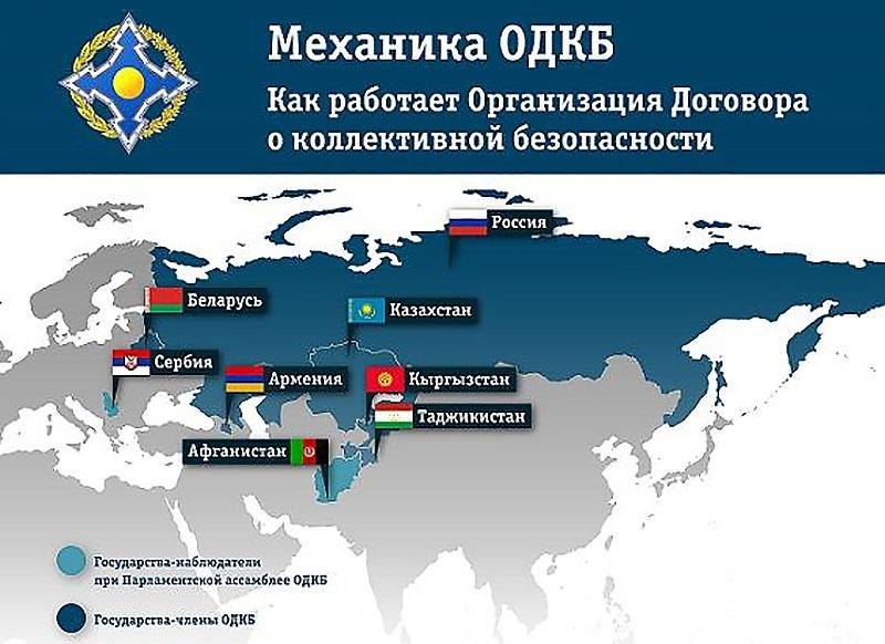 Считается, что Киргизия, Казахстан и Таджикистан сегодня в большей степени ориентированы на сотрудничество внутри ОДКБ и на укрепление связей с Россией.