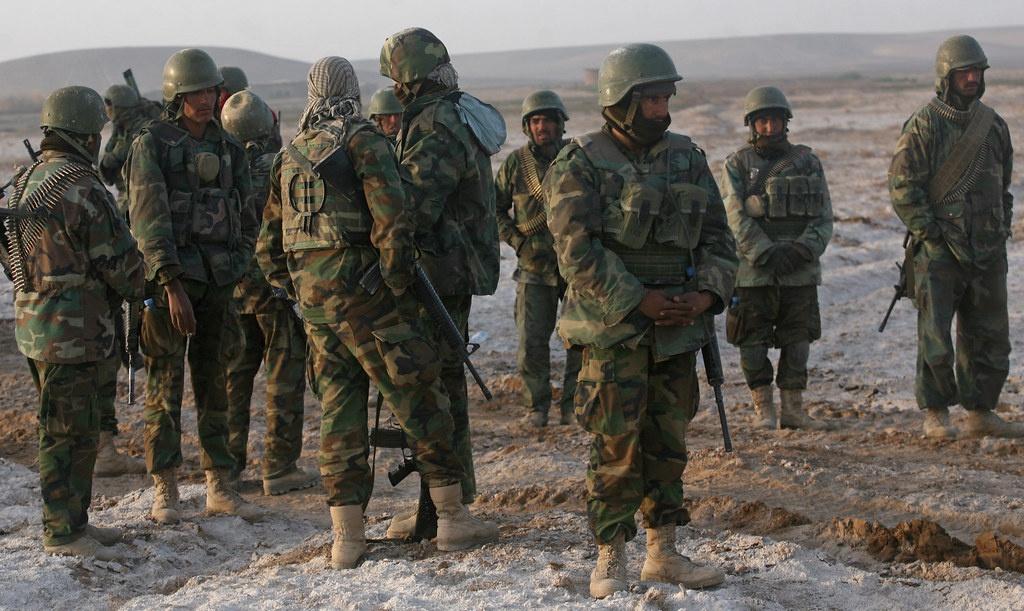 Нынешняя афганская армия подготовлена по стандартам НАТО.