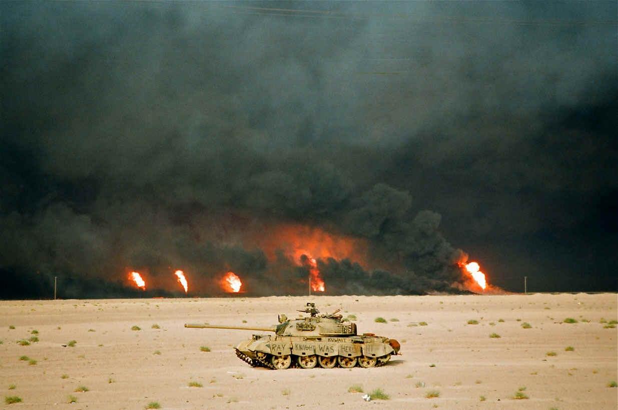В ходе наземной фазы «Бури в пустыни» наибольшую боеспособность внутри коалиции продемонстрировали армии не демократических стран-членов НАТО, а тоталитарных Сирии и Египта.