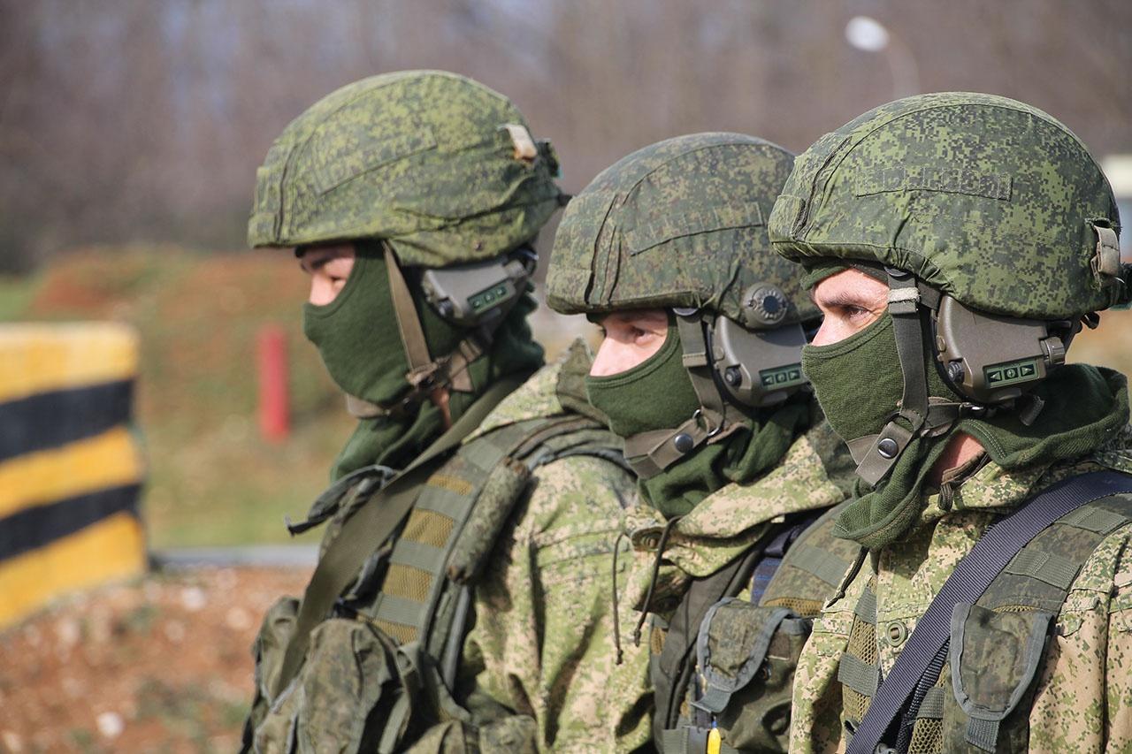 На военной базе в Абхазии служат лучшие солдаты, сержанты, прапорщики и офицеры России.