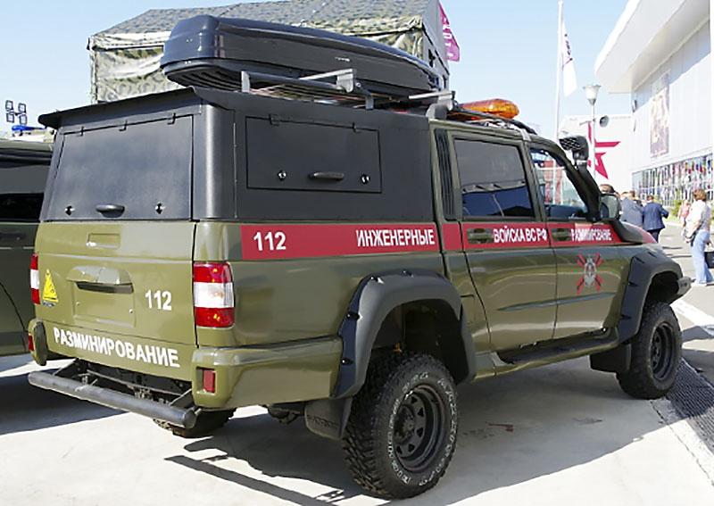 В подразделения инженерных войск Вооружённых сил России за первое полугодие 2021-го поставлено 25 специальных автомобилей группы разминирования САГР.