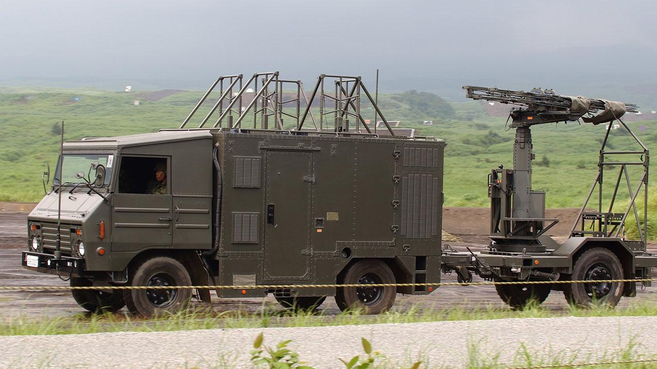 В Кэнгуне развёрнута ещё одна система радиоэлектронной борьбы NEWS (Network Electronic Weaponry System).