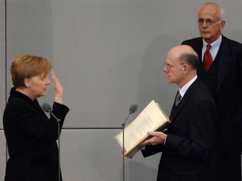 Ангела Меркель уже 16 лет находится на посту канцлера ФРГ.
