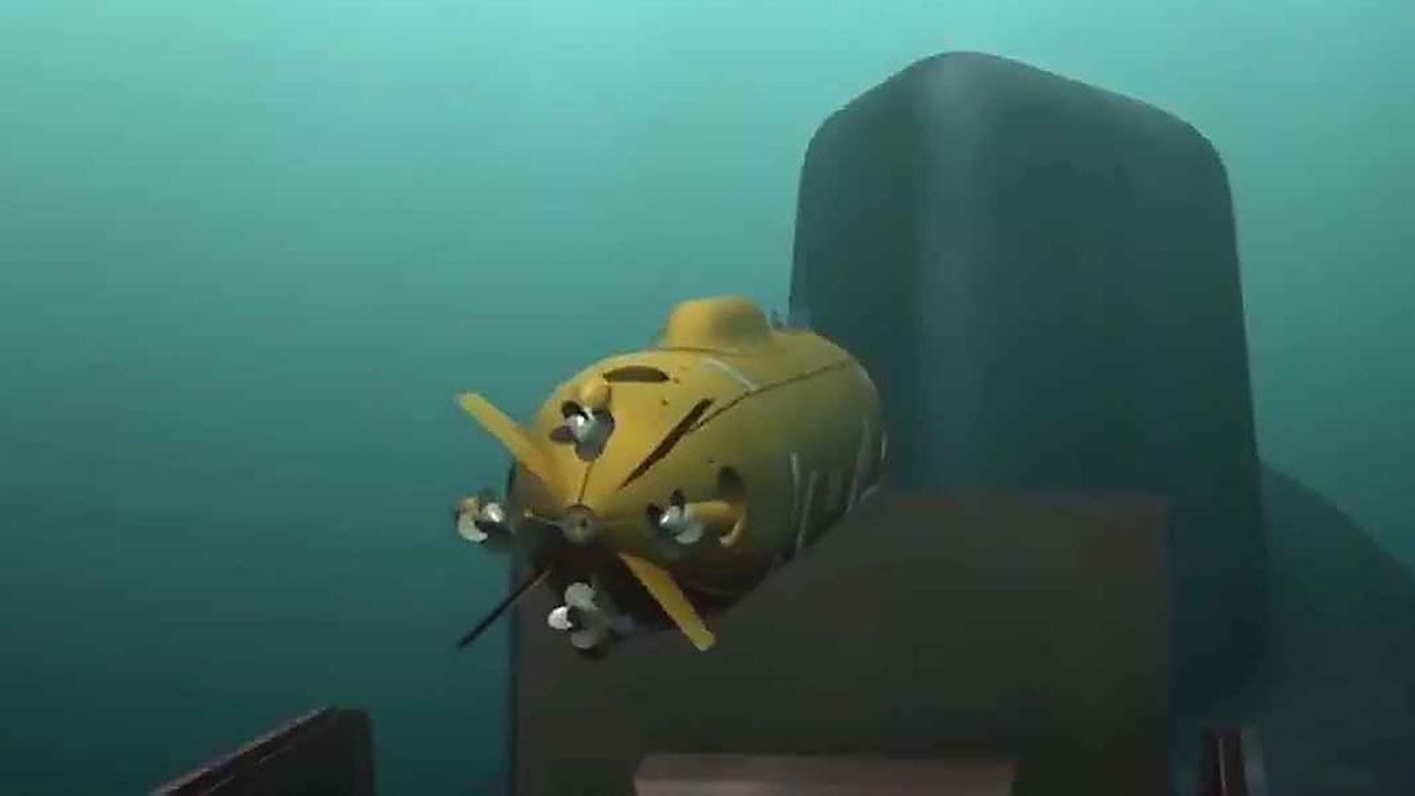 Морская душа с искусственным интеллектом