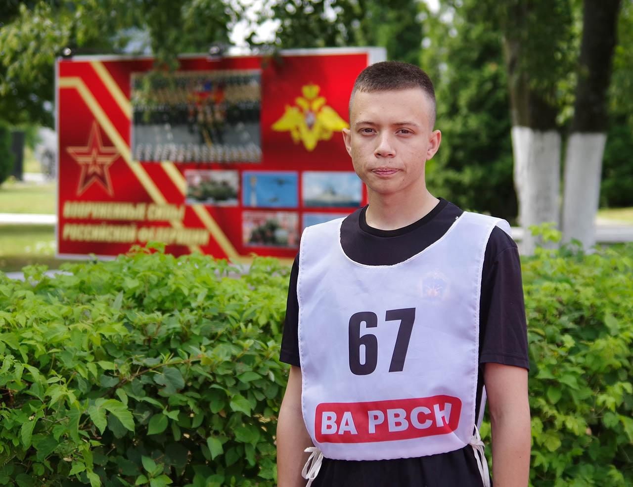 Продолжатель офицерской династии Кирилл Евдокимов собирается поступать на факультет робототехники военного и специального назначения в Военную академию РВСН.