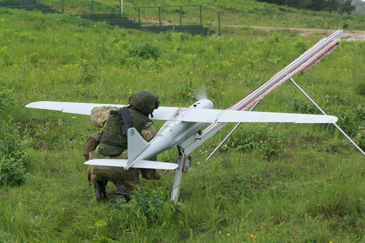 Основные силы «террористов» были вовремя обнаружены беспилотником «Орлан-10».