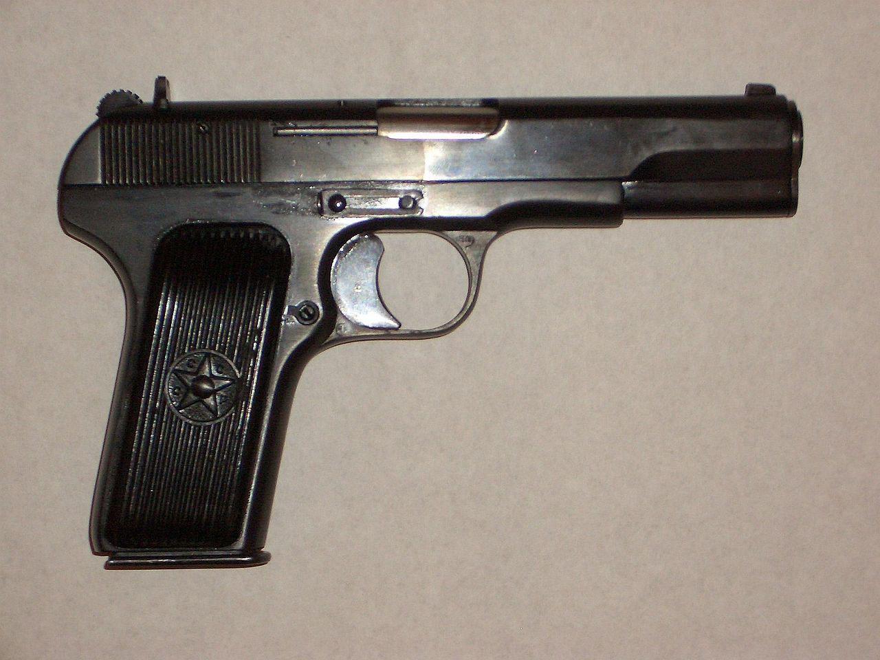 В начале 1934 года ТТ был принят на вооружение под наименованием «7,62-мм самозарядный пистолет обр. 1933 г.».