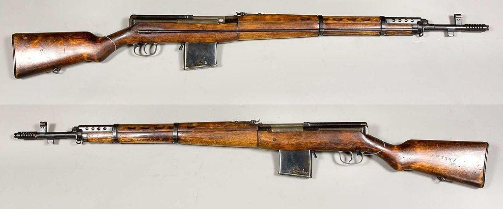 Самозарядная винтовка системы Токарева образца 1938 года СВТ-38.