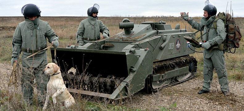 В Чечне за три месяца сапёры ЮВО обезвредили 300 взрывоопасных предметов.