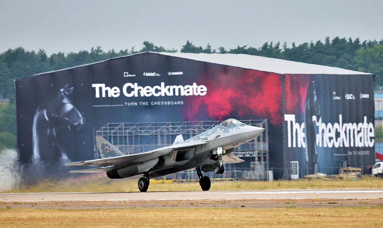 Проектирование нового самолёта было решено провести на базе обширного задела, полученного при создании Су-57.