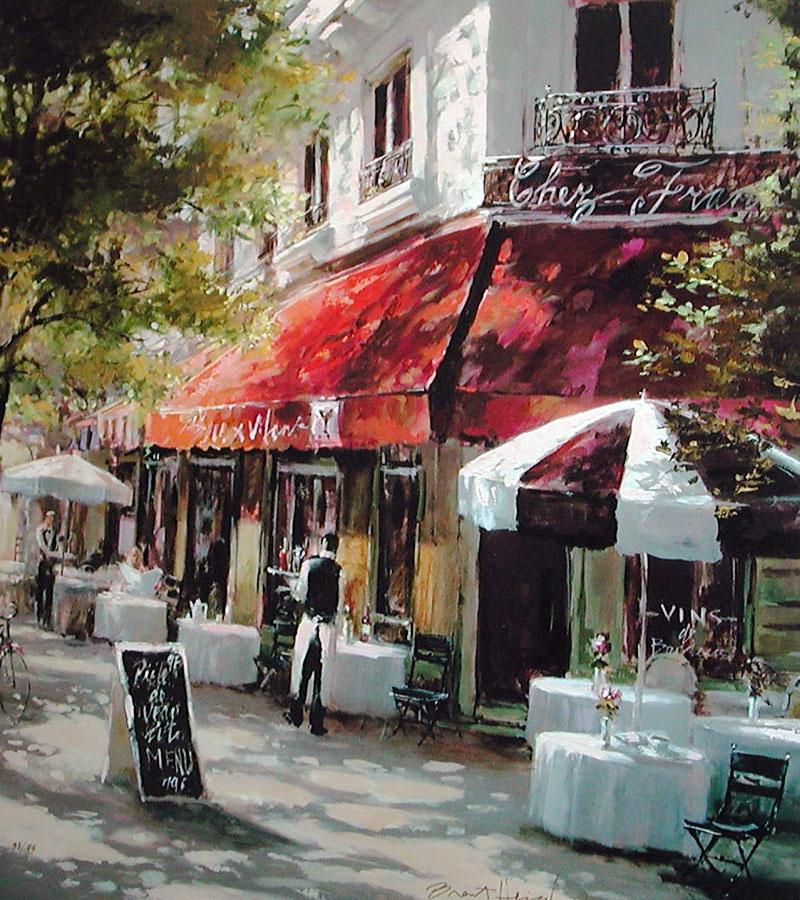 Может быть, именно в таком парижском кафе встречались Гектор и Клод.