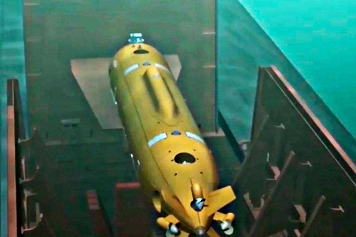 Аппарат с ядерной энергетической установкой «Посейдон».