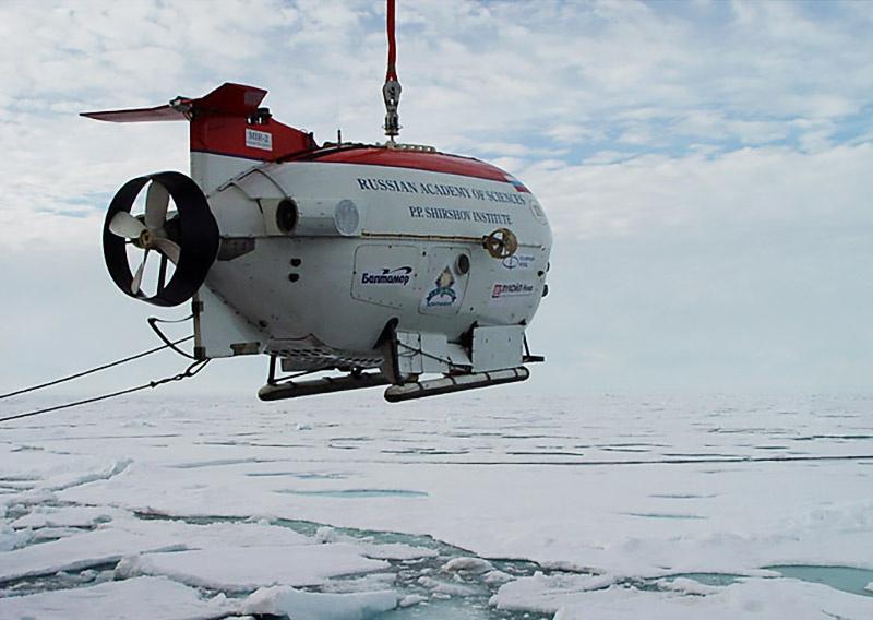 Батискафы «Мир» совершили спуски в географической точке Северного полюса.