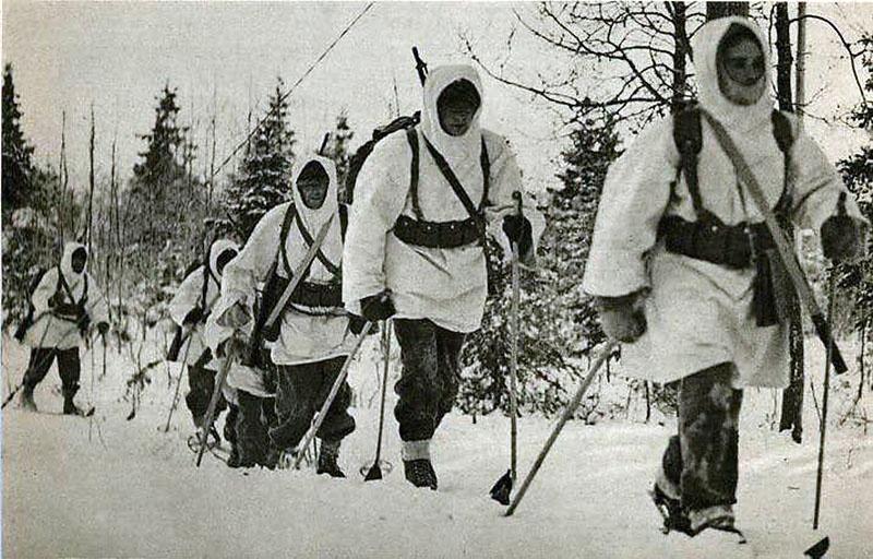 Бойцы Шведского добровольческого корпуса воевали против СССР на стороне Финляндии.
