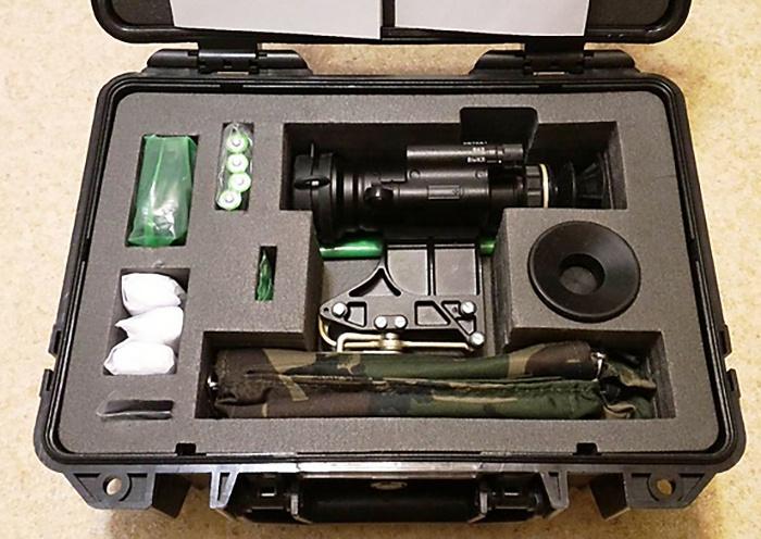 Партия новейших ночных прицелов «Малыш» поступила на вооружение в мотострелковое соединение Амурской общевойсковой армии ВВО.