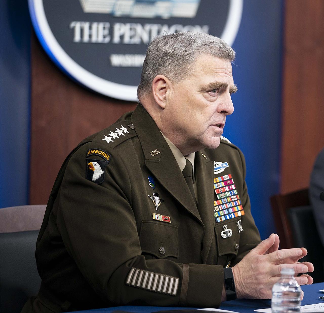 Председатель Объединённого комитета начальников штабов генерал Марк Э. Милли заявил, что для подготовки к войне США должны освоить в следующем десятилетии 50 новых технологий.