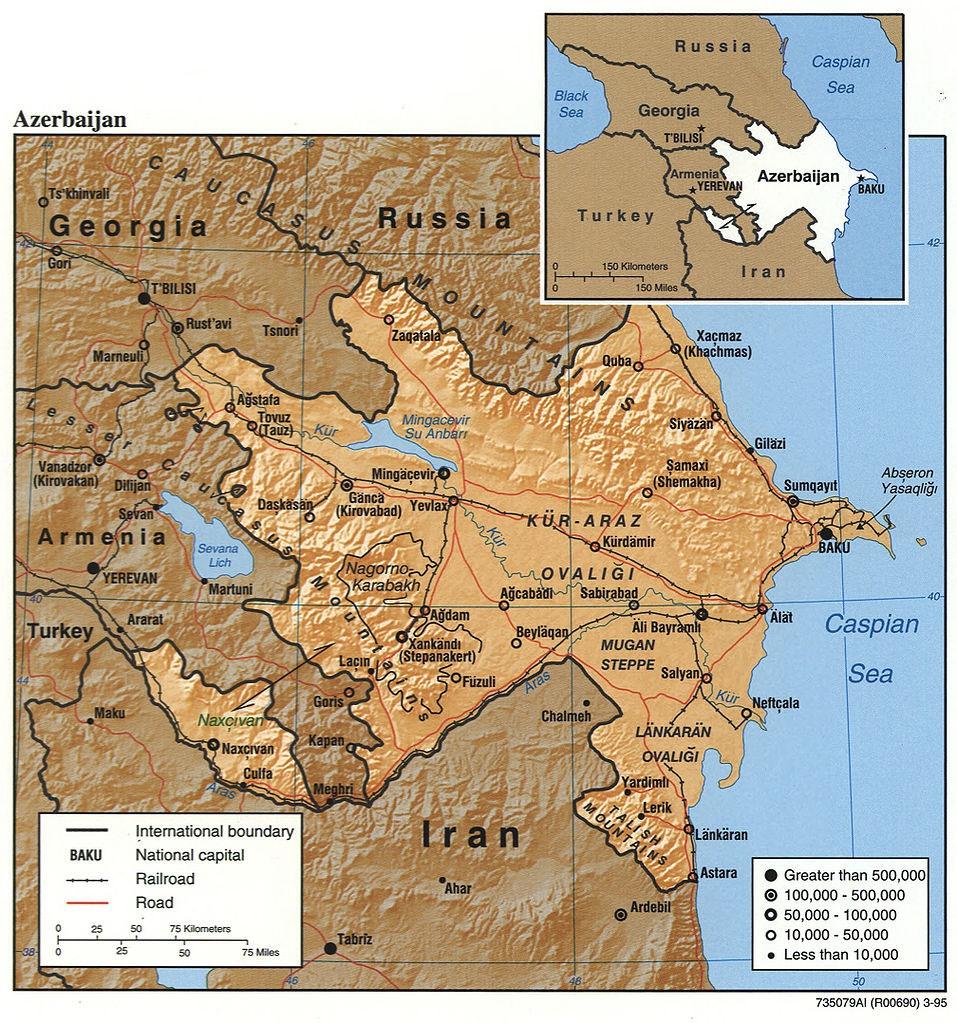 Географическое положение Азербайджана на границе с ИРИ делает его идеальным местом для сбора стратегических разведывательных данных.