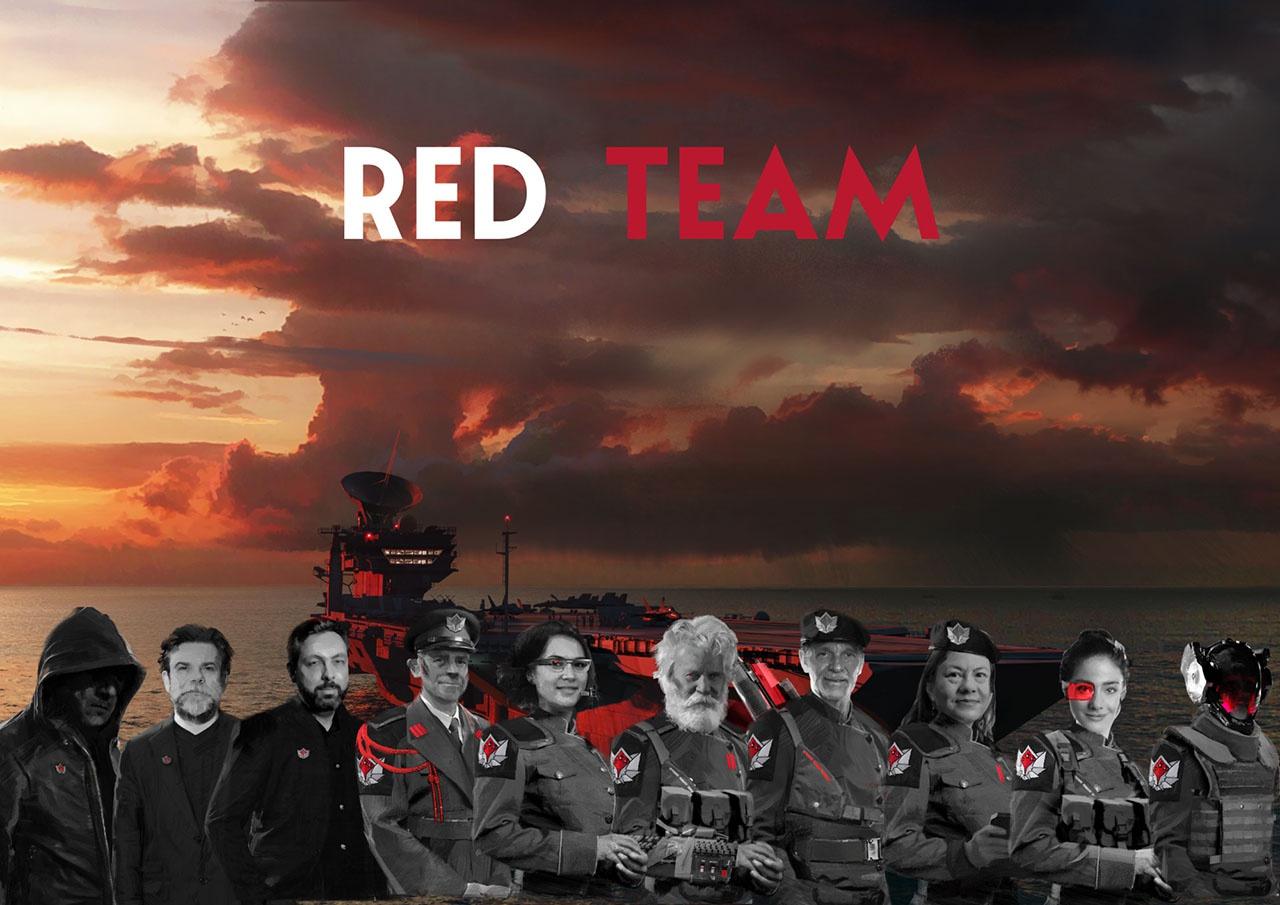 Команда писателей Red Team создана по заданию Генерального штаба французских вооружённых сил.