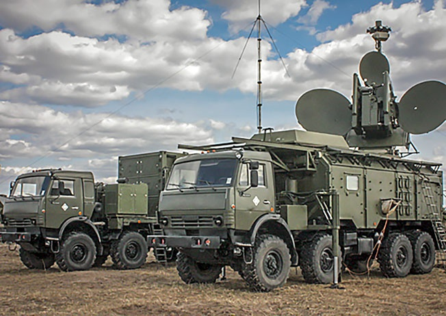 Комплекс радиоэлектронной борьбы «Силок».