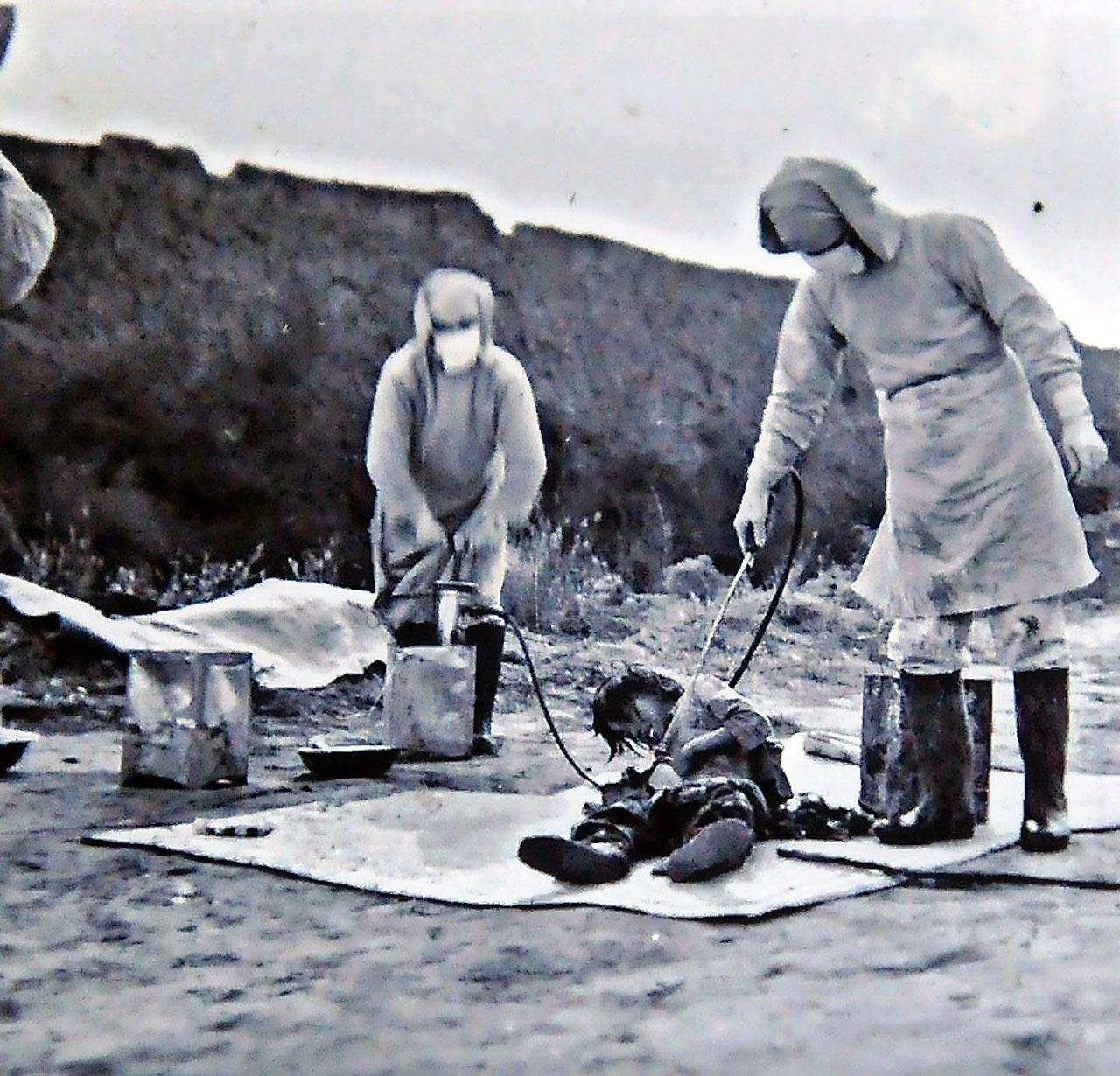 На арестованных и похищенных людях - китайцах, русских и корейцах - отрабатывалось заражение смертоносными болезнями.