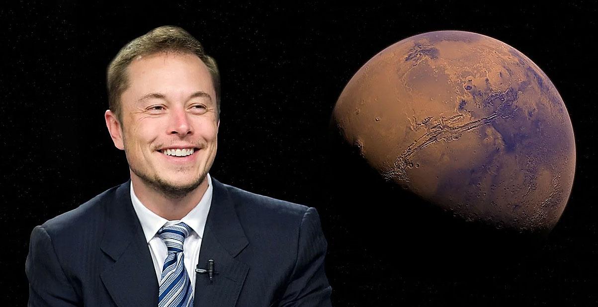 Илон Маск обещает 1.000.000 колонистов на Марсе к 2050 году.
