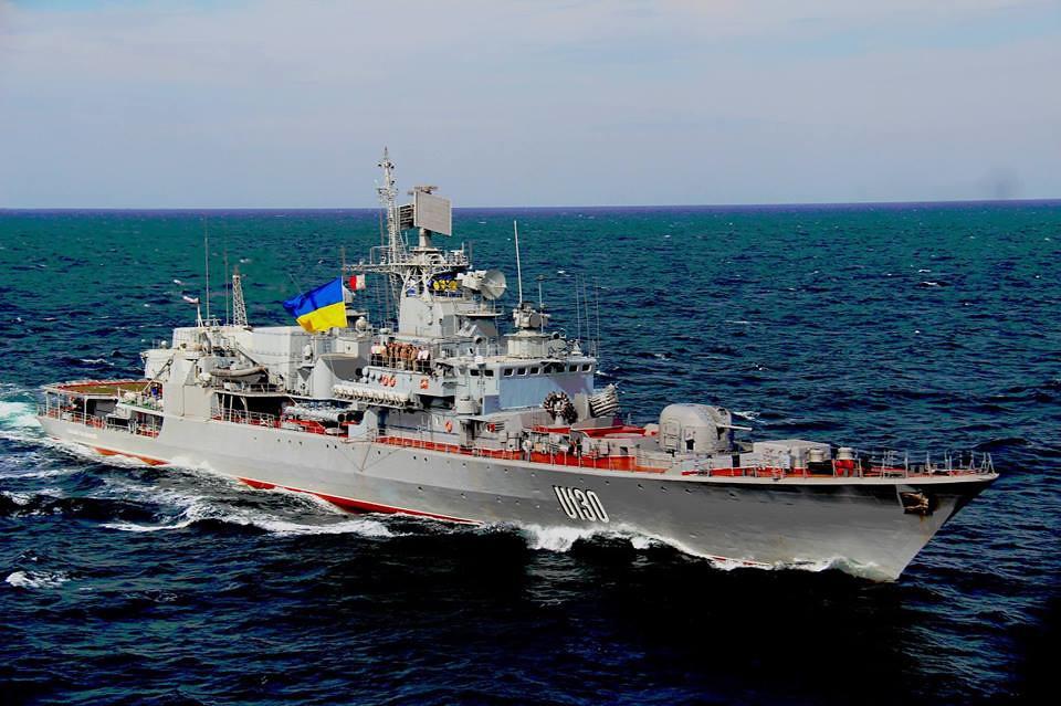 У Украины официально нет денег даже на ремонт флагмана своего флота фрегата «Гетман Сагайдачный».