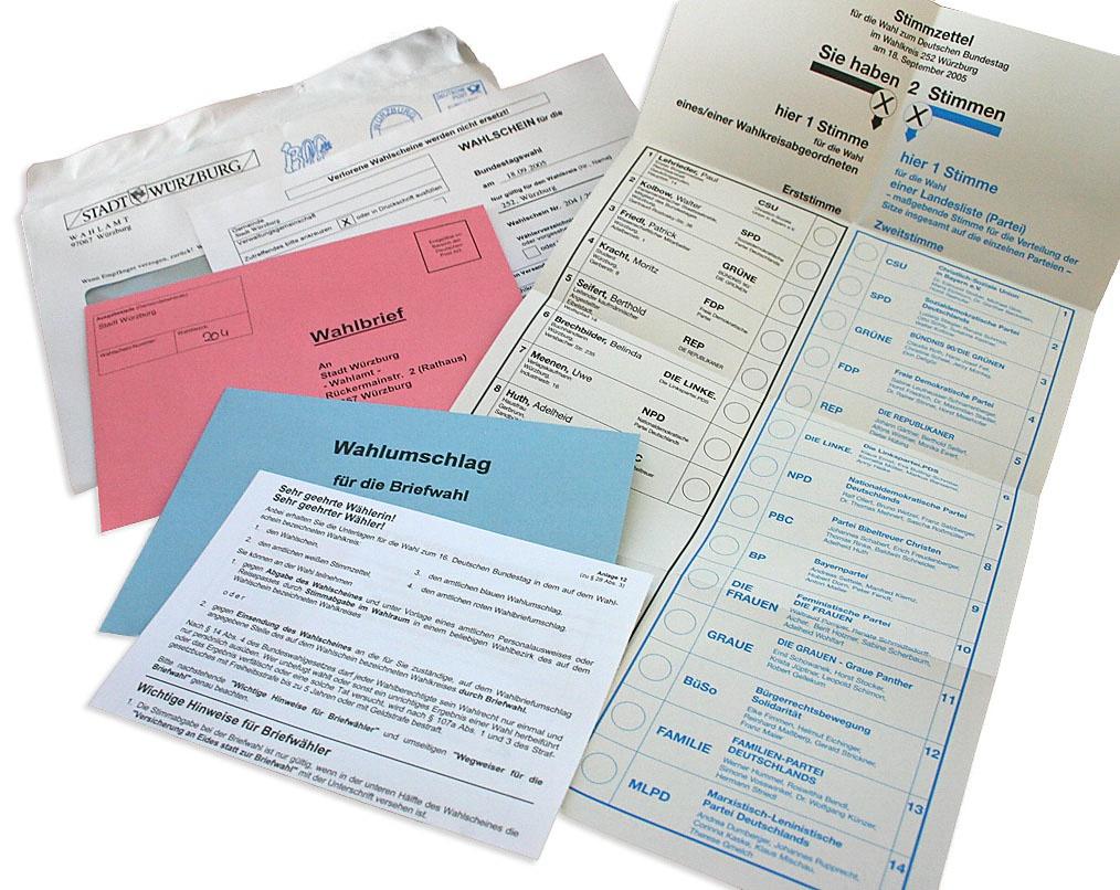 С 16 августа любому бундесбюргеру предоставлено право на получение бюллетеня для «дистанционно-почтового голосования».