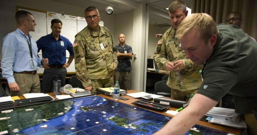 Военные проигрывают войну на компьютерном симуляторе wargame от Rand Corporation.