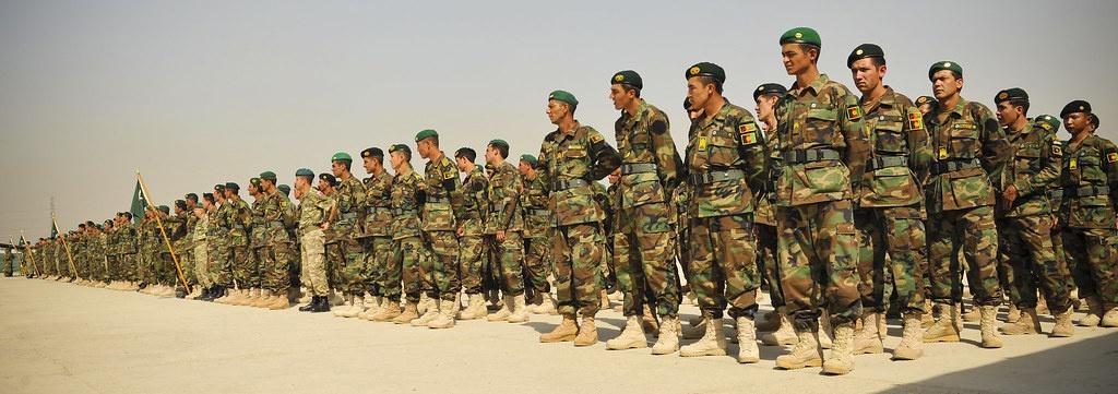 300 000 афганских военнослужащих было подготовлено американцами на сегодняшний день.