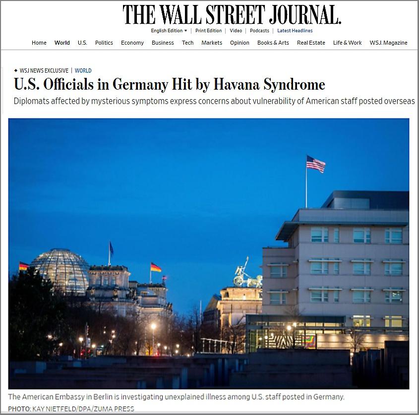 Статья в The Wall Street Journal.