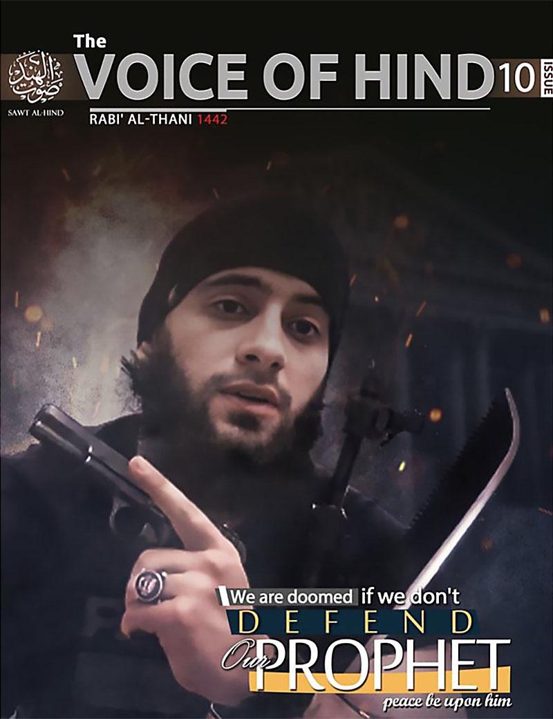 Журнал происламского государства Sawt-al-Hind («Голос Хинд») обрабатывал индийских мусульман во время общественных беспорядков в Нью-Дели в феврале 2020 года.