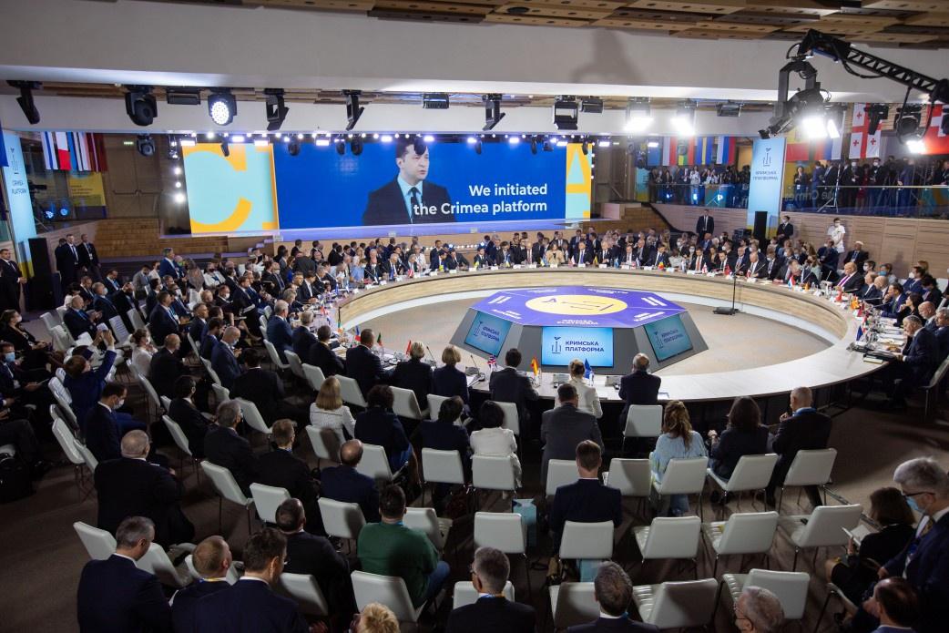 В канун празднования независимости Киев провёл «Крымскую платформу» для очередного осуждения «российской оккупации Крыма».