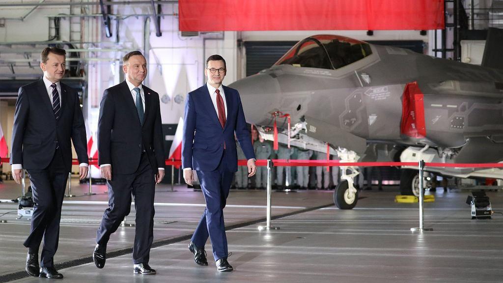 Польша закупила 32 самолёта F-35 за 4,6 млрд долларов.