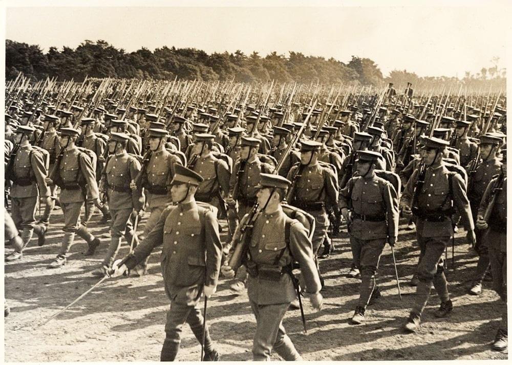 Квантунская армия была главной боевой мощью Японии.