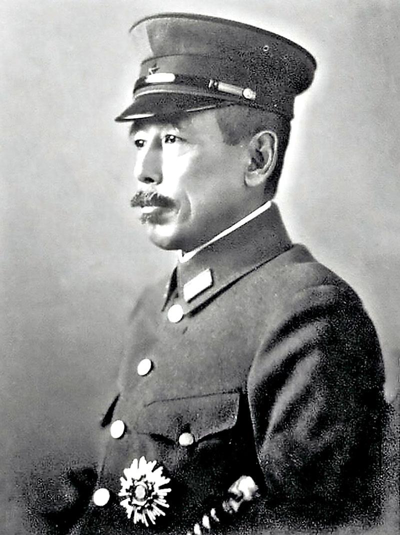 Командующий Квантунской армией генерал Ямада.