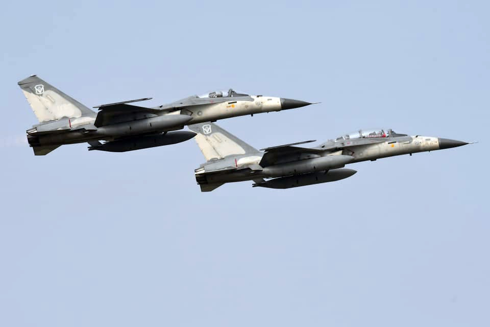Тайвань потратил 8 млрд долл. на закупку истребителей F-16.