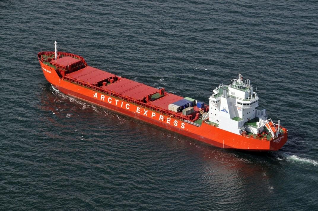 B период с 2006 по 2009 год «Норильский никель» построил свой флот сухогрузов ледового класса Arc7.