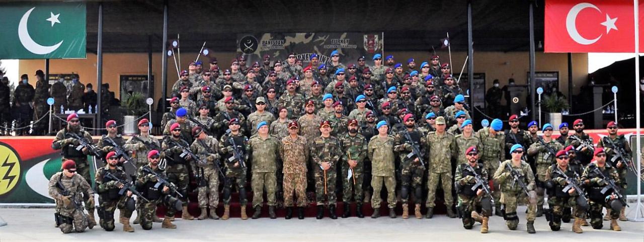 Турция и Пакистан часто проводят совместные военные учения.