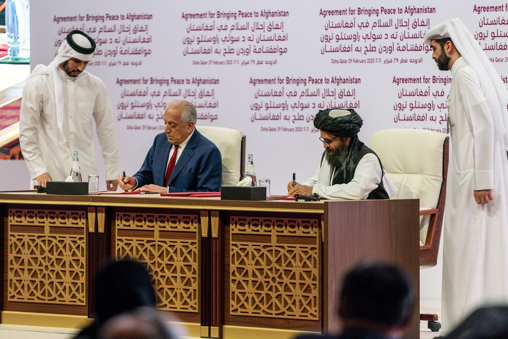 Ещё 29 февраля 2020 года США и «Талибан» подписали соглашение в Дохе.