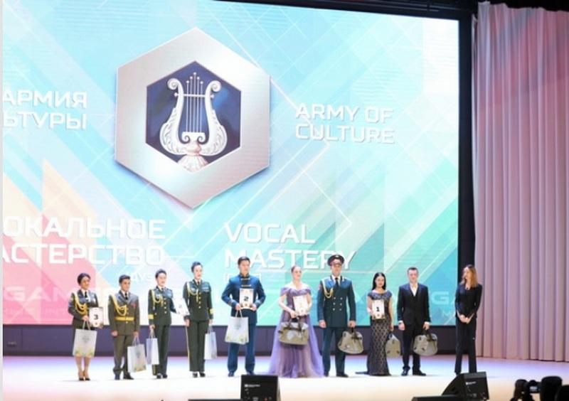 Ещё один новый конкурс - «Армия культуры» - проводился впервые на территории КВЦ «Патриот» и полигона Алабино.