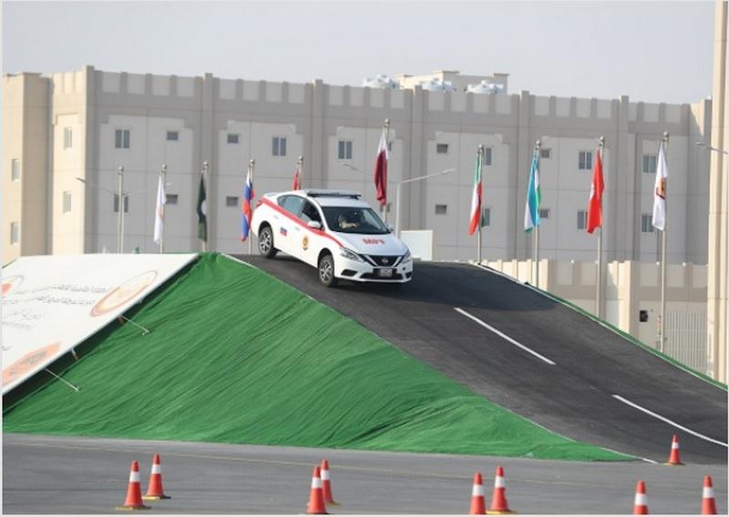 Конкурс «Дорожный патруль» также впервые проводился за пределами России - на территории Катара.