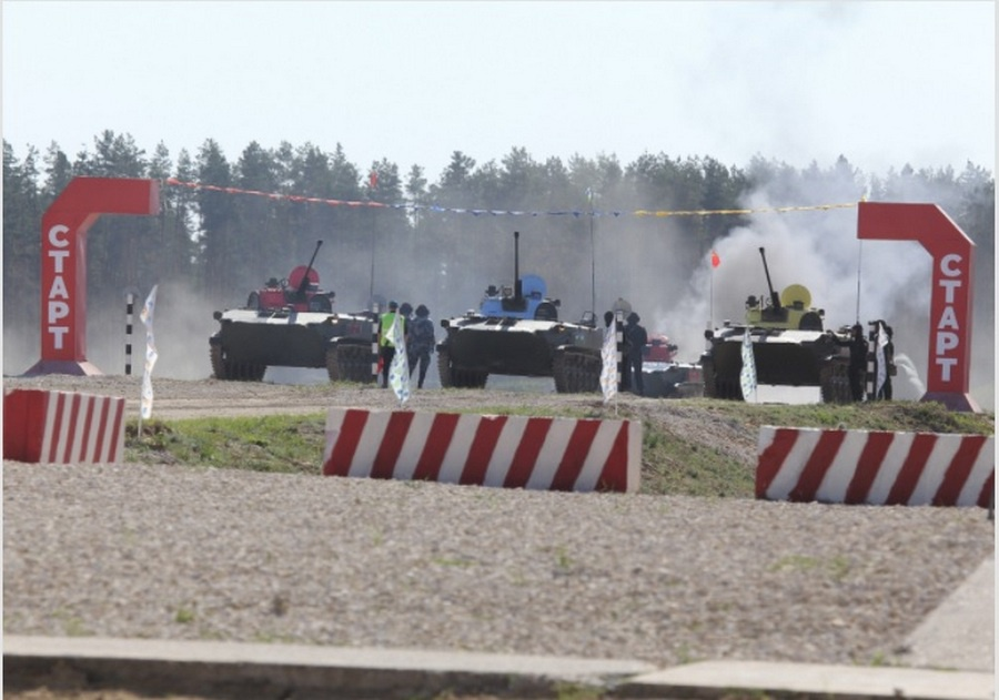 В Рязанской области на полигоне Дубровичи прошёл заключительный этап международного конкурса «Десантный взвод».