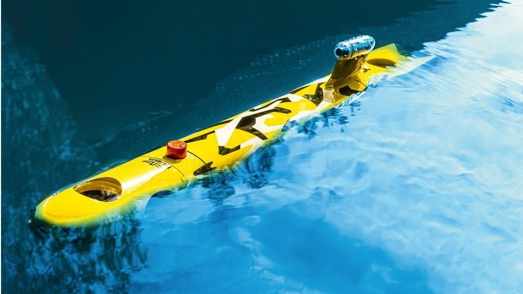 Автономный необитаемый подводный аппарат сверхмалого класса «Амулет-2».